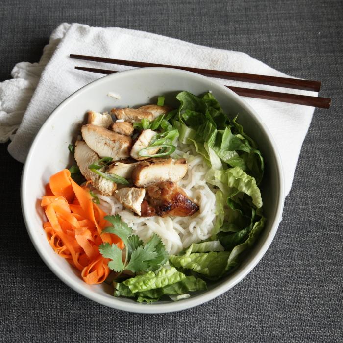 Fresh Vietnamese Noodle Bowls