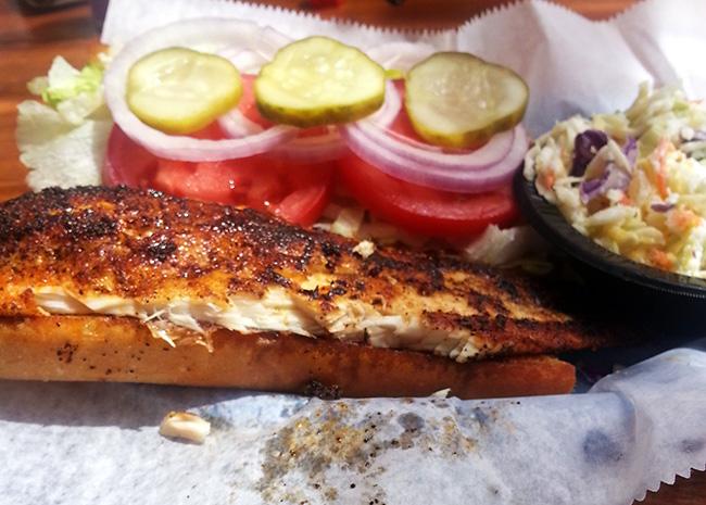 FL Flounder Sandwich