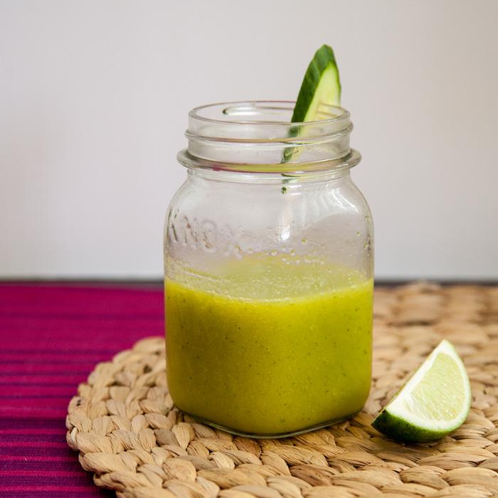 Mango Cucumber Slushie