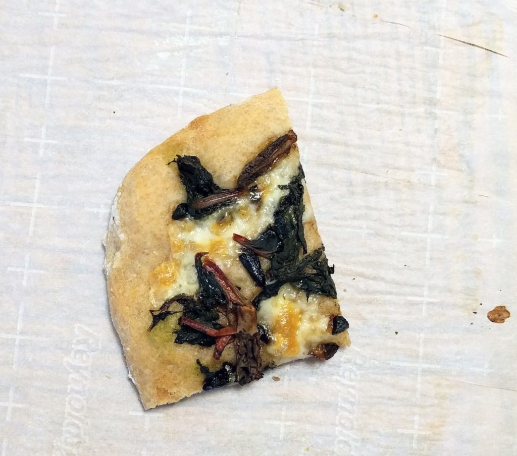 Insta-Greens Pizza