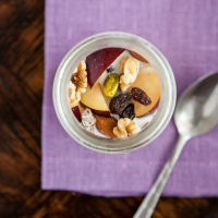 Steel-Cut Muesli, California-Style