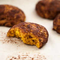 Whole-Grain Pumpkin Snickerdoodles