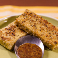 Hemp-Crusted Tofu Nuggets