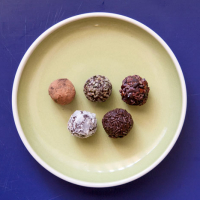 Avocado Fudge Brigadeiros {Brazilian-style dark chocolate truffles, for your Olympic viewing pleasure}