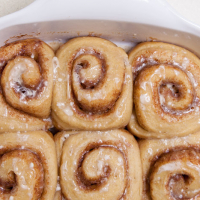 [Sourdough] Overnight Cinnamon Rolls