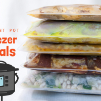 [Instant Pot] Freezer Meals: 5 Favorite Make-Ahead Healthy Dinner Recipes
