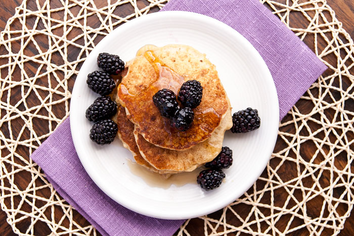 Steel-Cut Oat Pancakes