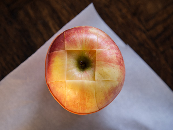 On-the-Go Sliced Apple
