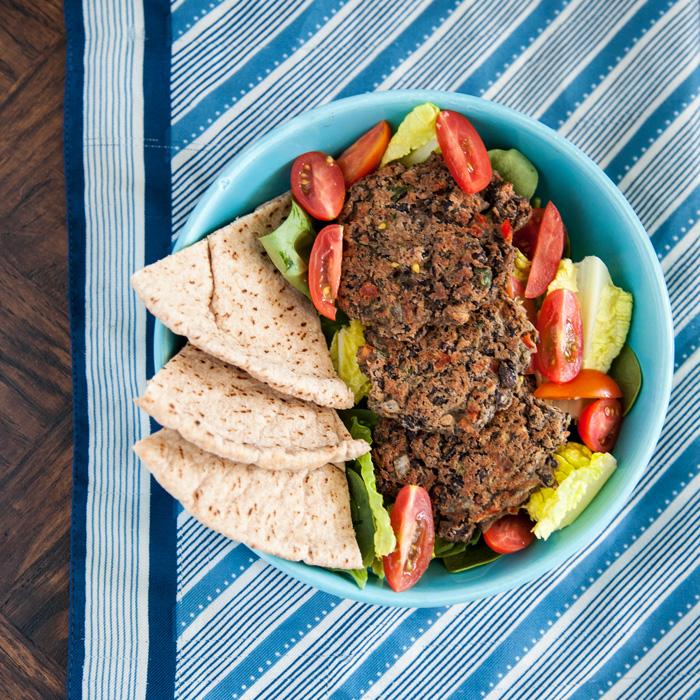 Black Bean Crunch Patties