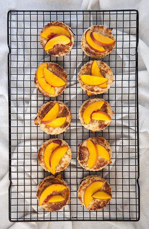 Gluten-Free Peach Cobbler Bites