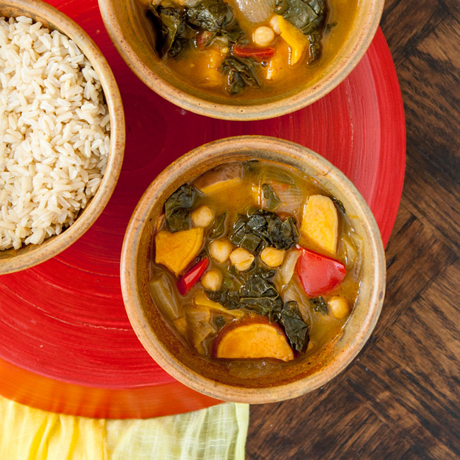 Caribbean Veggie Curry