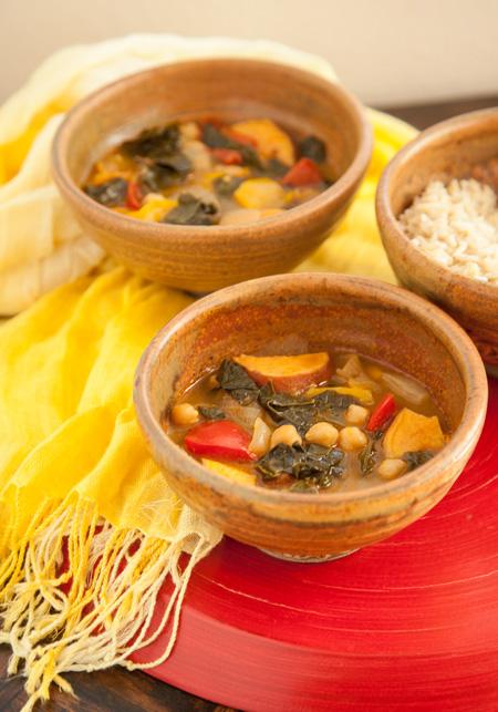 Vegan Caribbean Coconut Curry