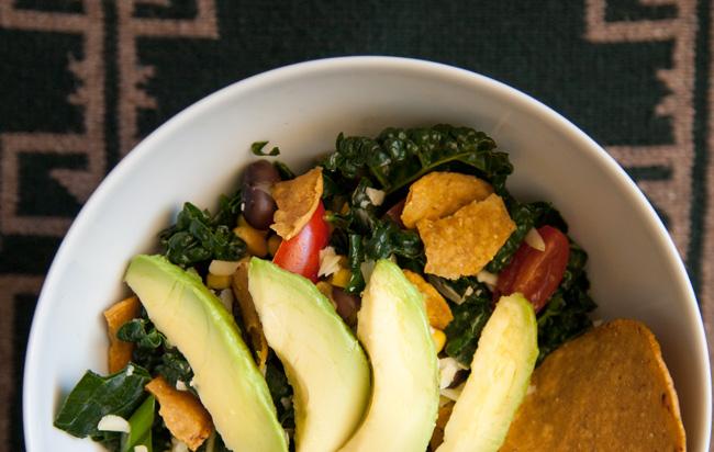 Nacho Average Kale Salad