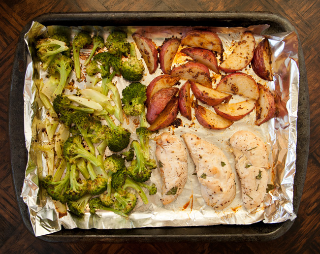 Maple Dijon Chicken MyPlate Bake