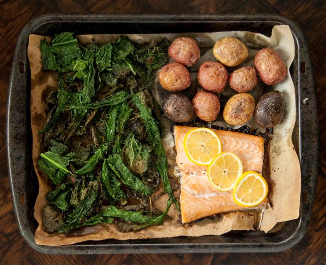 The MyPlate Bake: SuperFood Salmon