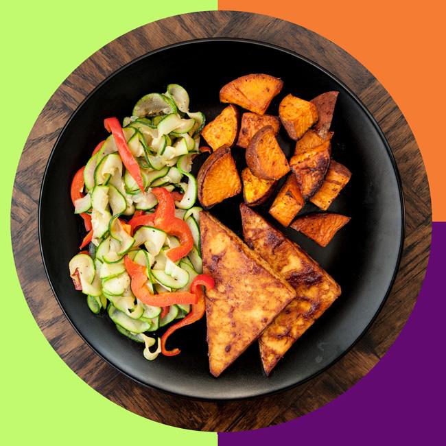 MyPlate Bake #2: Sriracha BBQ Tofu