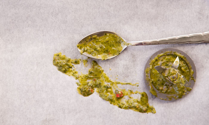 Chimichurri in a Hurry