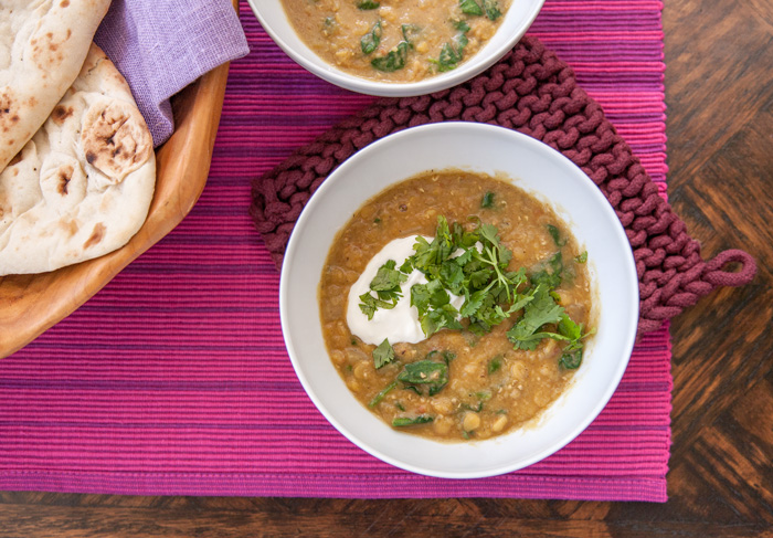Instant Pot Recipe: Everyday Lentil & Spinach Dal