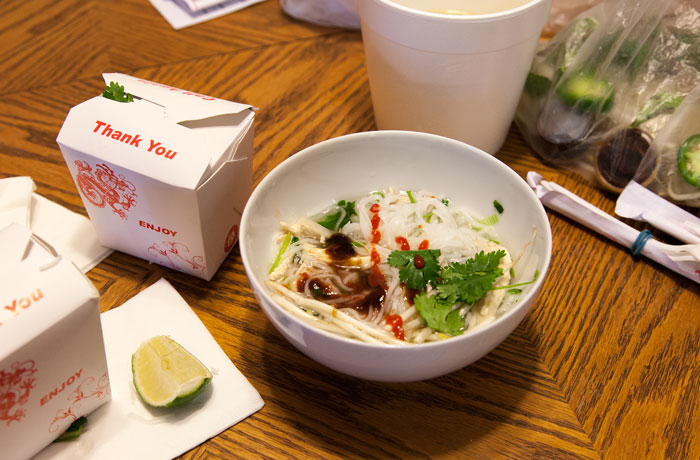 What to Eat After Oral Surgery: Take-Out Pho