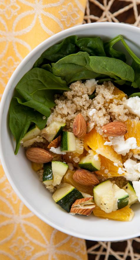 Fresh & Fruity Spring Salad