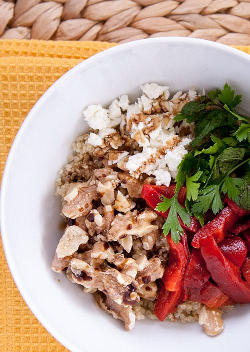 Middle-Eastern Muhammara Salad
