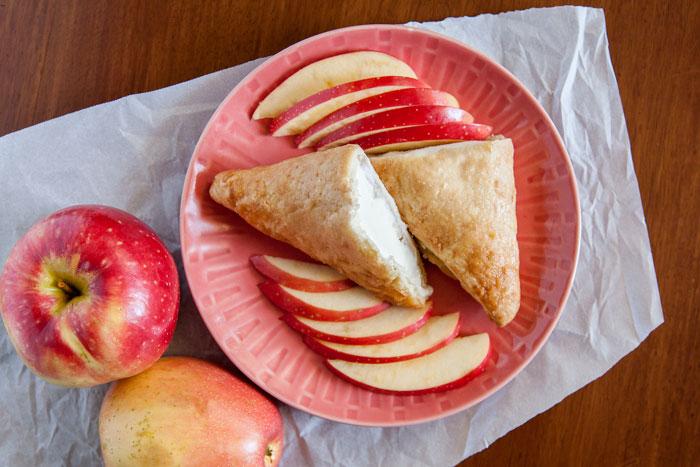 Easiest Seasonal Treat: The Apple Turnover Ice Cream Sandwich