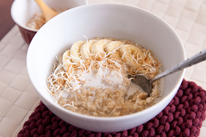 [Instant Pot] Creamy Coconut Steel-Cut Oats