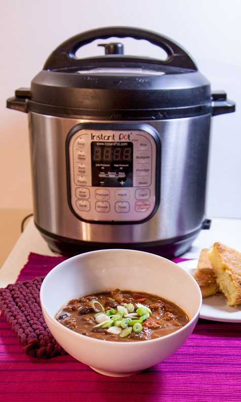 [Instant Pot] Chipotle Chocolate Chili