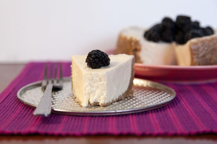 [Instant Pot] Greek Yogurt Cheesecake