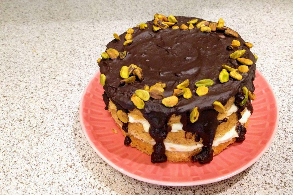 Epic Pistachio Cake