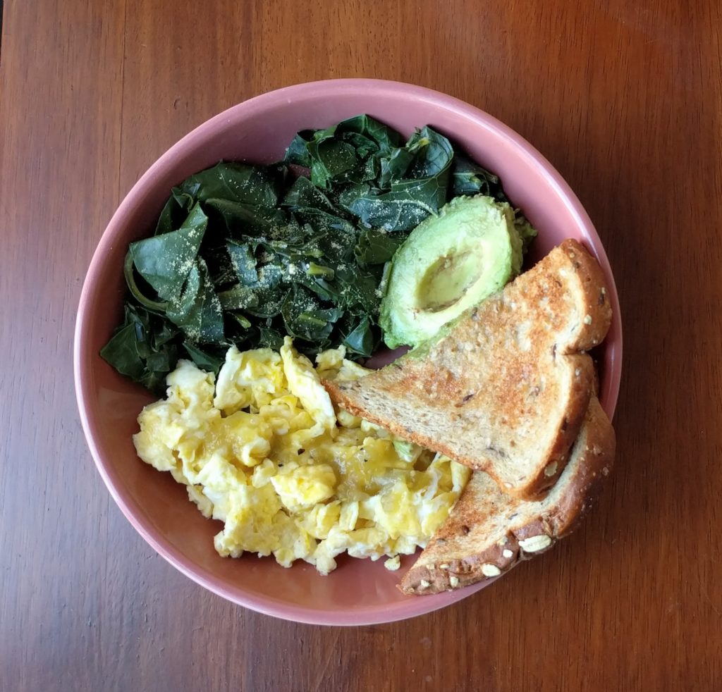 Insta-Greens Breakfast