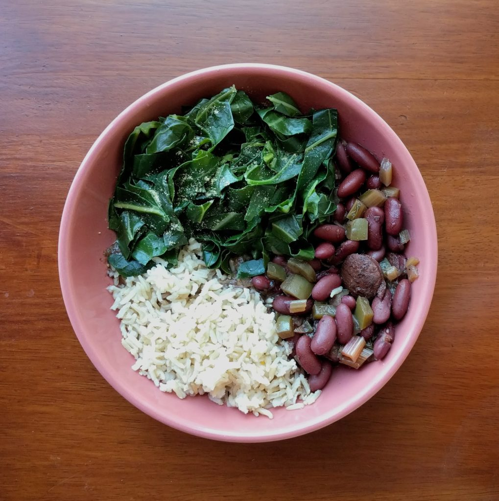 Insta-Greens & Red Beans