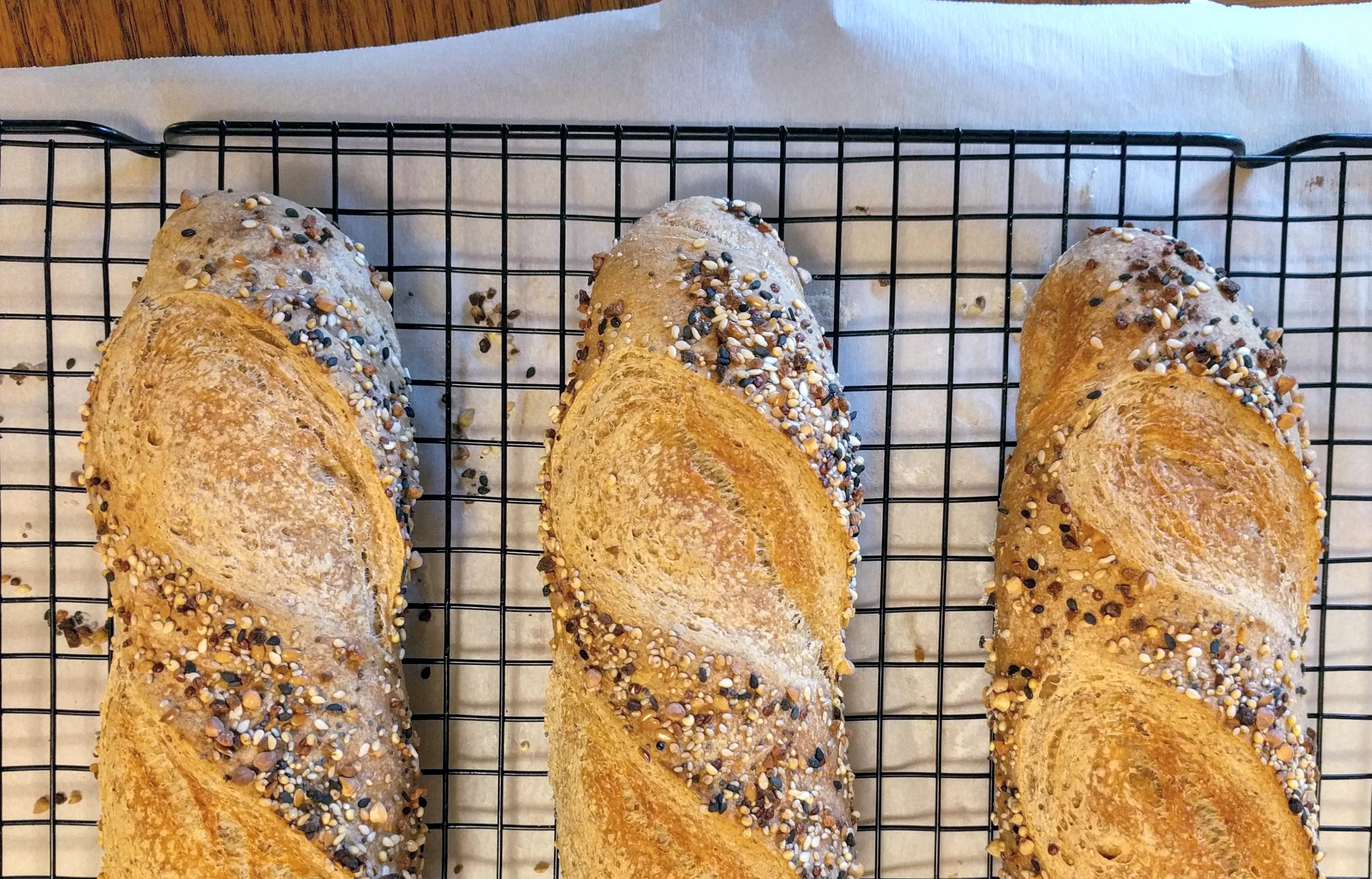 [Sourdough] Seediest Seed Bread
