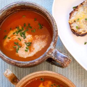 [Instant Pot] Roasted Tomato Soup