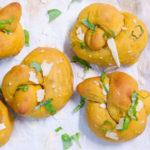 [Sourdough] Pumpkin Garlic Knots