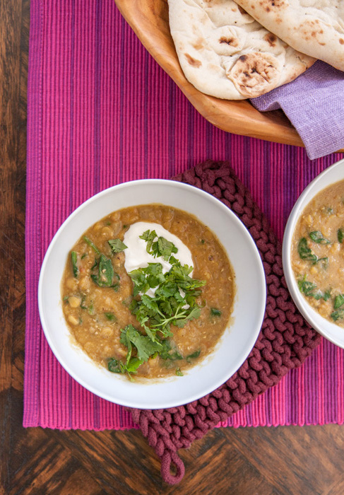 Instant Pot Everyday Lentil & Spinach Dal