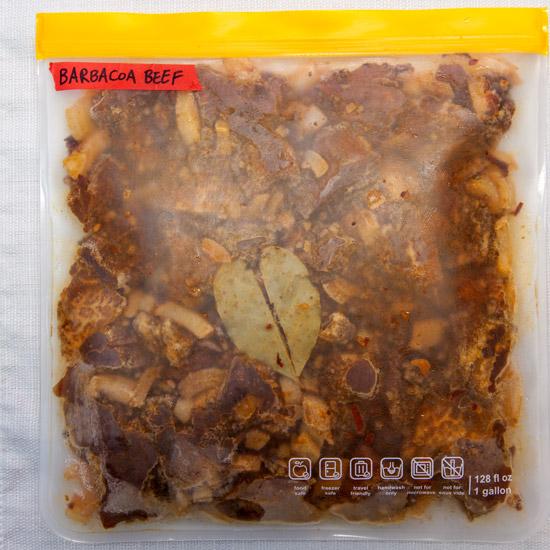 Instant Pot Freezer Meal: Barbacoa Beef