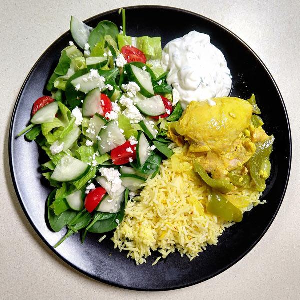 Instant Pot Freezer Meal: Greek Lemon Chicken