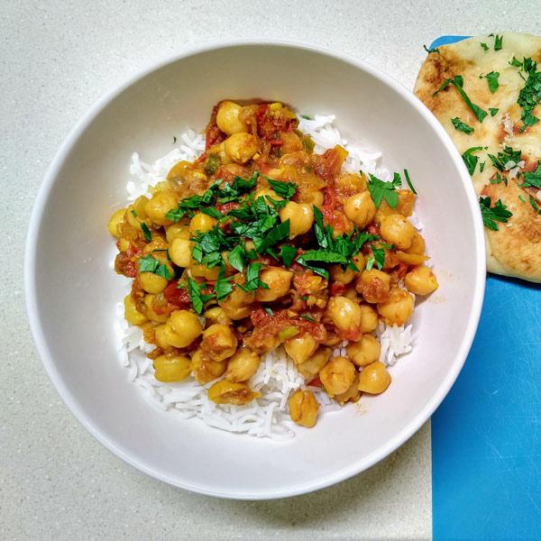 Instant Pot Freezer Meal: Chana Masala