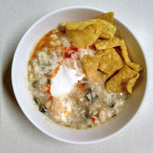 Instant Pot Freezer Meal: White Chicken Chili
