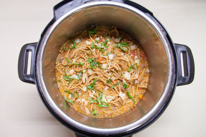 [Instant Pot] Insta-Spaghetti!